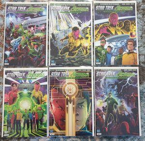 DC COMICS x 6. FULL SERIES: STAR TREK / GREEN LANTERN: STRANGE WORLDS. #1 - #6. 2016. NEW for Sale in Las Vegas, NV