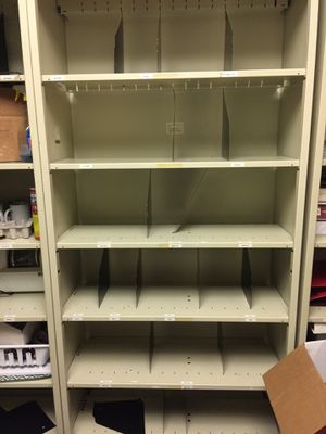 Metal office file shelves for Sale in Bakersfield, CA