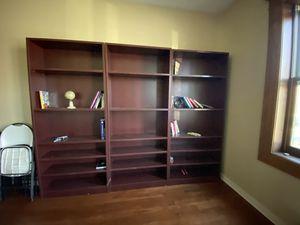 3 large bookshelves for Sale in Hartford, CT