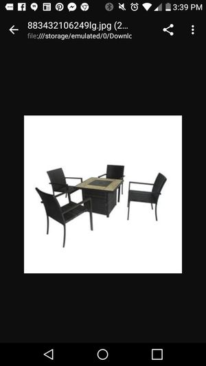 Patio furniture for Sale in Detroit, MI