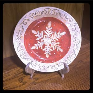 Festive Holiday Plate Decor for Sale in Bonney Lake, WA