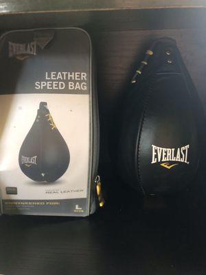 Everlast speed bag 9x6 for Sale in Sugar Land, TX