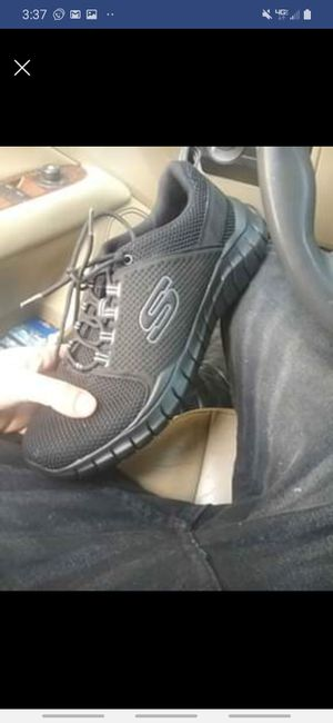 Sketchers air cooled memory foam size 12 mens shoes for Sale in Auburndale, FL