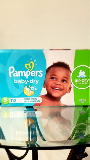 Pampers Baby Dry Gain Size 112ct ** Retail $34.99+tax ** for Sale in Alafaya, FL