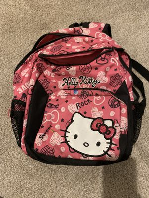 Hello kitty backpack for smaller kids for Sale in San Marcos, CA