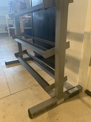 BodySolid 3 tier Dumbbell Rack for Sale in Hillsboro, OR