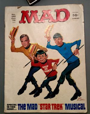 MAD Magazine Special Trek Edition - October 1976 Edition for Sale in Washington, DC