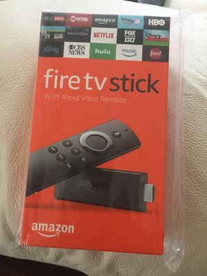 Amazon Fire Tv Stick Fully Unlocked!!! for Sale in Tampa, FL