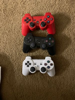 Ps3 controllers $10 dollars each for Sale in Elgin, IL