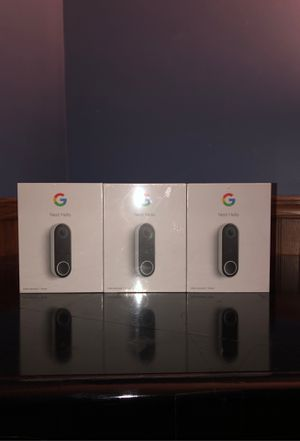 Google nest hello camera ($200 each) for Sale in Homer Glen, IL