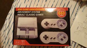 Mini super nintendo..... Classic...660 game for Sale in Lancaster, PA