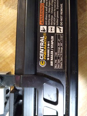 Air nail / stapler for Sale in Gastonia, NC