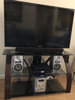 """TV stand up to 50"""" very good condition for Sale in Los Angeles, CA"""