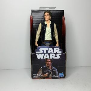 NEW Star Wars Movie Han Solo Action Figure Toy Harrison Ford Actor for Sale in Trenton, NJ