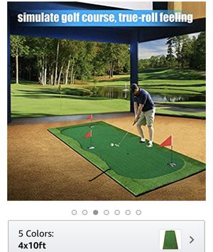 Boburn4x10ft Golf simulation practice blanket Special sale !Only cash!No bargaining! for Sale in City of Industry, CA