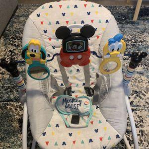 Disney Rocker Baby Bouncer for Sale in Las Vegas, NV