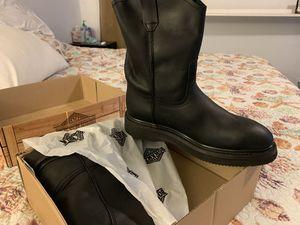Bonanza Work Steel Toe Boot wedge 10 mens NEW for Sale in Converse, TX