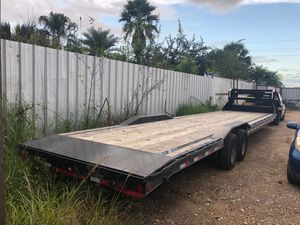 "Trailer car houl, 102""x 36ft 2018,2 single axel $9,000.00 for Sale in Richmond, TX"