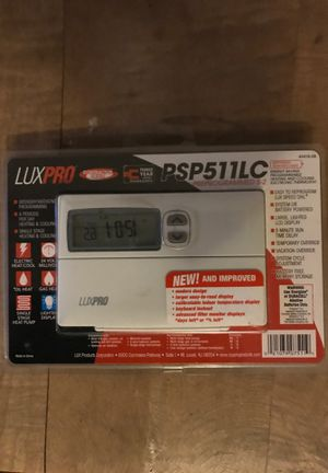 Luxpro programmable thermostat for Sale in Columbus, OH