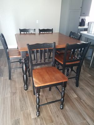 Dining set - Table and 6 chairs for Sale in Tulare, CA