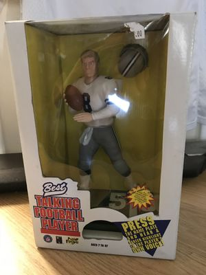 Dallas Cowboys Troy aikman figurine action figure collectibles for Sale in Tampa, FL