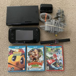 Nintendo Wii U Bundle for Sale in Fort Worth, TX