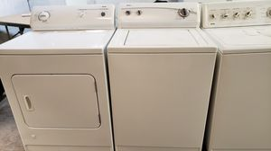 KENMORE TRADITIONAL TOP LOAD WASHER AND GAS DRYER SET for Sale in Covina, CA
