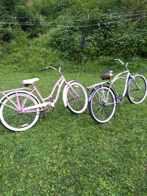 two schwinn bikes and mountain bike 50 each for Sale in Fairmont, WV
