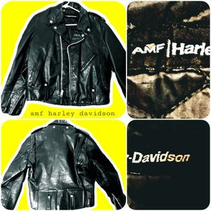 AMF Harley Davidson Leather Jacket for Sale in Newark, OH
