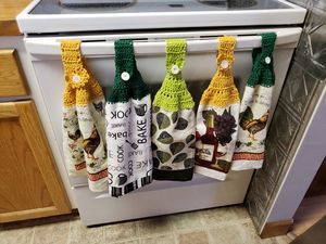 Crochet top kitchen towels for Sale in Prineville, OR