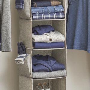 Better Homes & Gardens Charleston Collection 6 Shelf Closet Organizer, Grey for Sale in Redwood City, CA