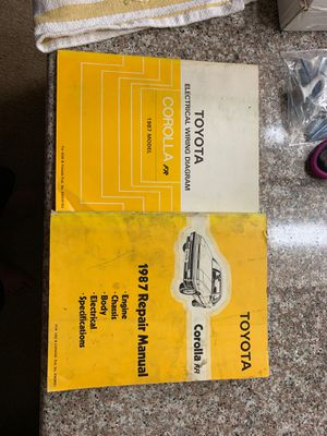 AE86 factory repair manuals for Sale in Cerritos, CA