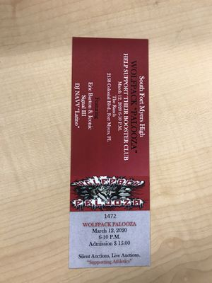 Wolfpack Palooza Tickets At The Ranch!!!!! for Sale in Fort Myers, FL