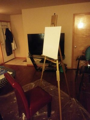 2 adjustable brass painting easels $40 each for Sale in Nashville, TN