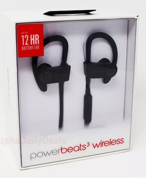 Power beats 3 wireless new for Sale in Houston, TX