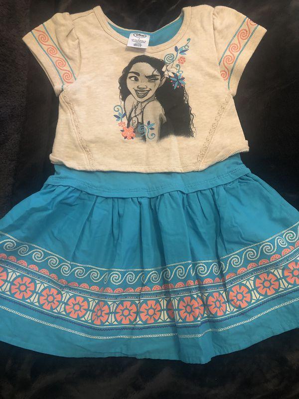 Moana Disney girls dress