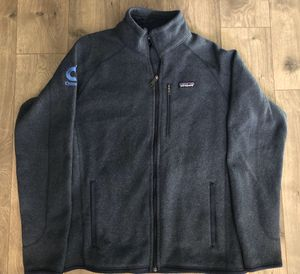 Mens Patagonia Better Sweater Zip Up Blue Heather Size Large L Full Zip Promo for Sale in Stevenson Ranch, CA