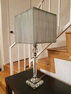 Table lamp clear base for Sale in Burbank, CA