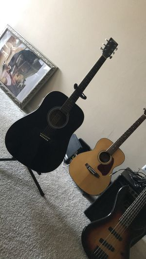 All black Johnson acoustic guitar for Sale in Washington, DC