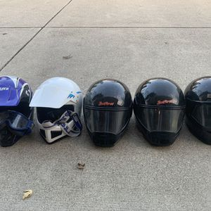 snowmobile ATV helmets for Sale in Wheaton, IL