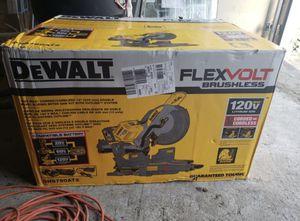 Dewalt 60V/120V FlexVolt Miter Saw for Sale in Lynn, MA