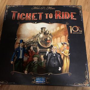 Ticket To Ride 10th Anniversary Edition- Rare for Sale in Vancouver, WA