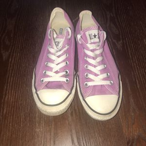 Converse All Star Chuck Taylor Purple 130121F Canvas Low Sneakers Men 5 Women 7 for Sale in Galloway, OH