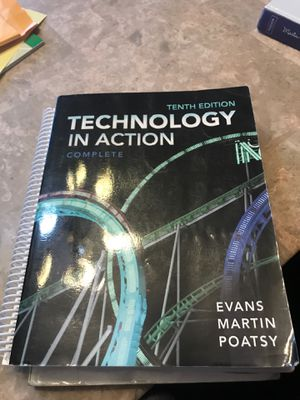 Technology in action book for Sale in US