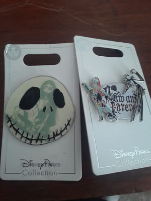 Disney pins the nightmare before Christmas/ jack skellington for Sale in Stockton, CA