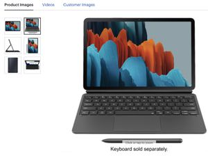 """Samsung - Galaxy Tab S7 - 11"""" - 128GB - With S Pen - Wi-Fi - Mystic Black for Sale in Lakewood, CA"""