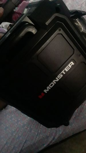 Monster speaker box for Sale in Los Angeles, CA
