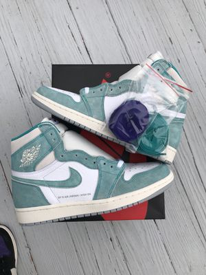 "Nike Air Jordan Retro 1 High OG ""Turbo Green"" size 10 for Sale in Washington, DC"
