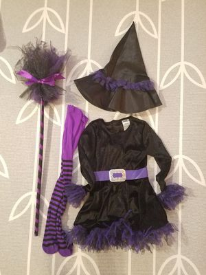 Kids Witch Costume (3-4T) for Sale in Woodbridge, VA