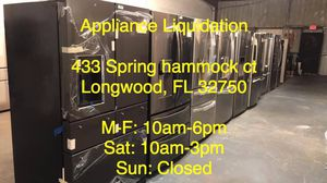 Wholesale/Retail Appliances. Refrigerators Dishwasher Washer/Dryer & More. Samsung LG GE Whirlpool & More for Sale in Casselberry, FL